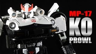 MP-17 Prowl KO Takara Masterpiece figure review & comparison