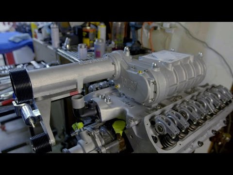 Aluminum Heads and Supercharger Install on the Ford Small Block for the Mustang