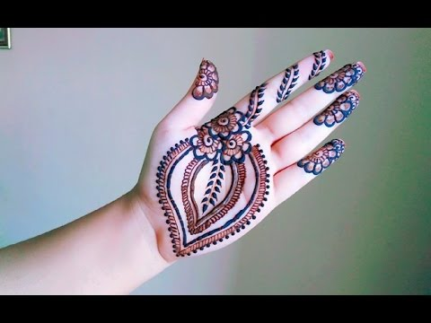 Mehndi Peacock Tattoos : Gulf henna arabic mehndi design tattoo