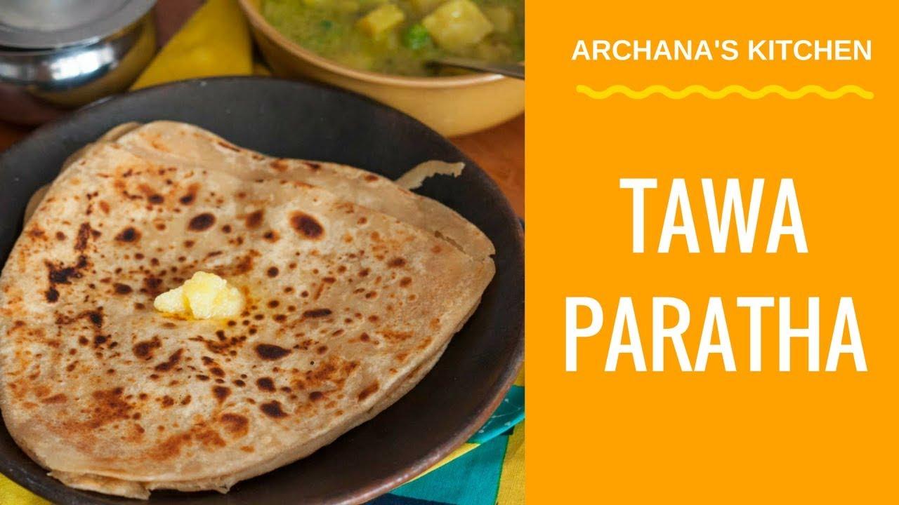 Tawa Paratha Recipe - Plain Paratha