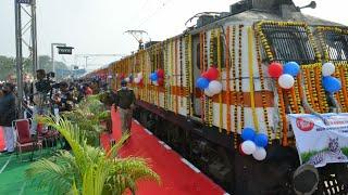 INAUGURAL RUN OF REWA KEVADIYA SPECIAL , रीवा केवडिया महामना स्पेशल , मोदीजी ने चालू की 8 नई ट्रेनें