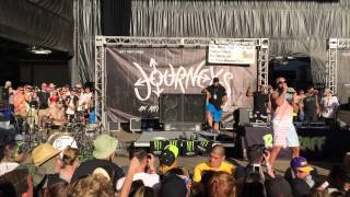 Riff Raff- Kokayne - Warped Tour in Mountain View, CA on June 20th, 2015