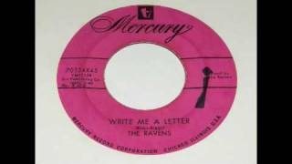 The Ravens - Write Me A Letter