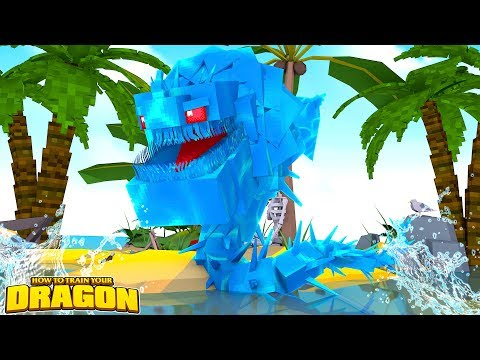 WATER DRAGON ISLAND! - How To Train Your Dragon