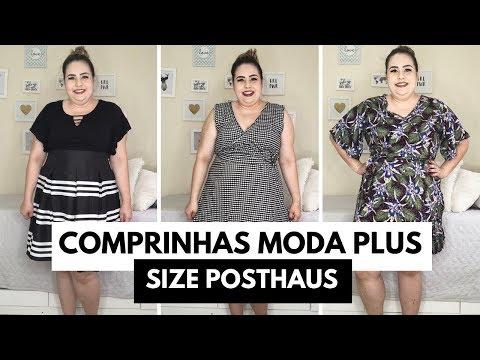 Comprinhas MODA PLUS SIZE Posthaus // por Ana Luiza Palhares ❤️