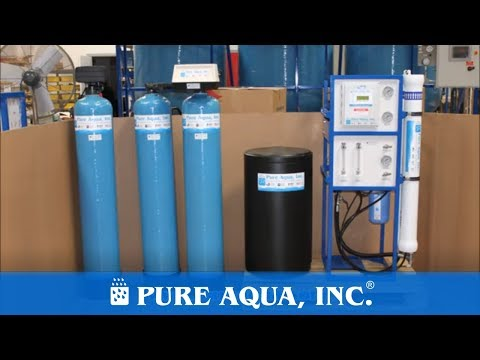 Commercial Reverse Osmosis Machine For Car Wash (Calcium/Magnesium Reduction) - 3,000 GPD - USA