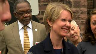 Cynthia Nixon makes first trip to Buffalo as candidate for Governor. (Full Press Conference)