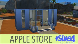 Apple Store | The Sims 4 Lot Build