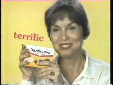 Zohra Lampert for Goya: Sazon! 1985