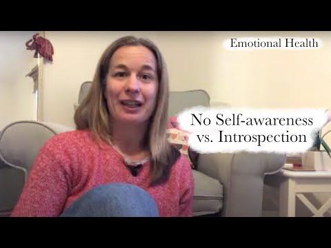 No Self-Awareness Versus Introspection | Emotional Health Series - Part 2 of 6