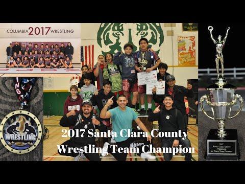 2017 Santa Clara County Wrestling Team Champion