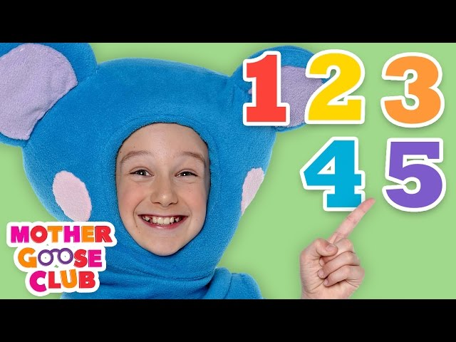 Count With Me | Mother Goose Club Songs for Children