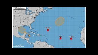 As Florence dissipates, what happened to the other tropical storms in the Atlantic?
