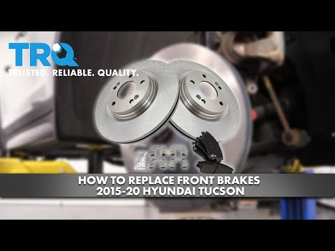 How To Replace Front Brakes 2015-20 Hyundai Tucson