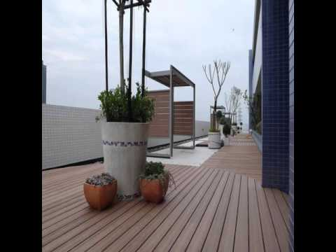 Outdoor Deck Vinyl Floor Covering
