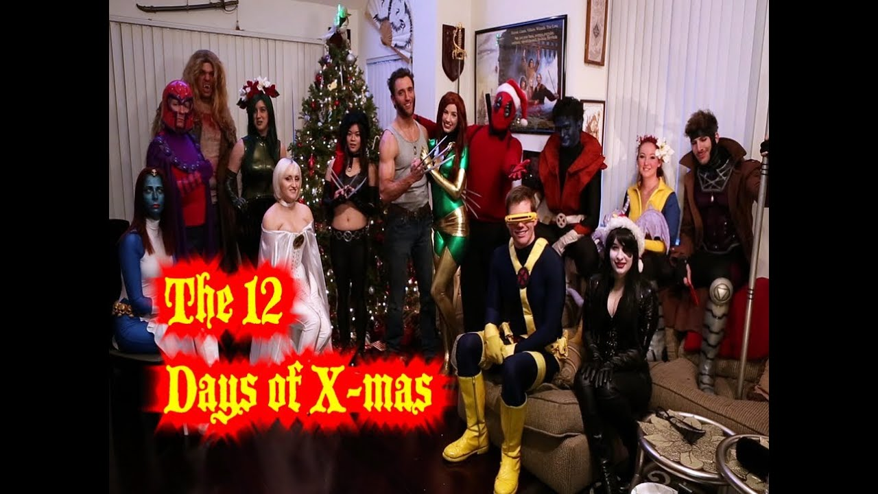 The 12 Days Of X Men Starring The Uncanny X Men