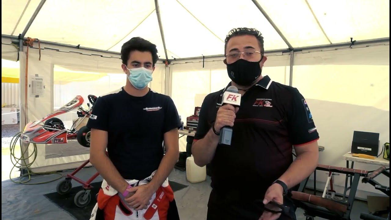 Entrevista Taylor Greenfield Fecha 3 Fórmula Karts