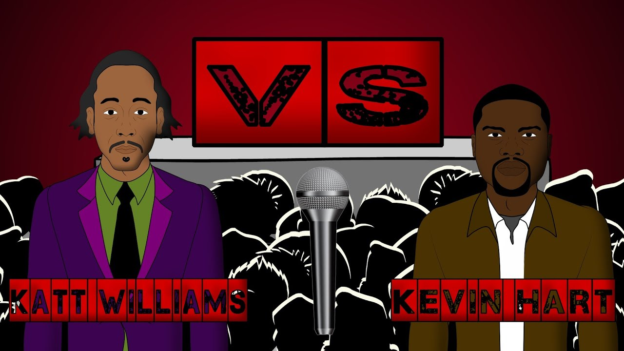 Katt Williams Vs Kevin Hart - Roast Session (Hosted by Chris Rock)