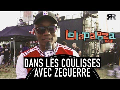 """Youtube: ZEGUERRE – les coulisses de son show à Lollapalooza: """"Nous, on a la dalle!"""""""