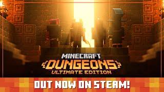 Minecraft Dungeons: Steam Launch Trailer