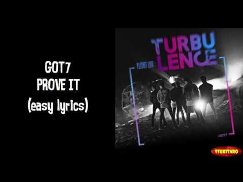 GOT7 - Prove It Lyrics (easy lyrics)