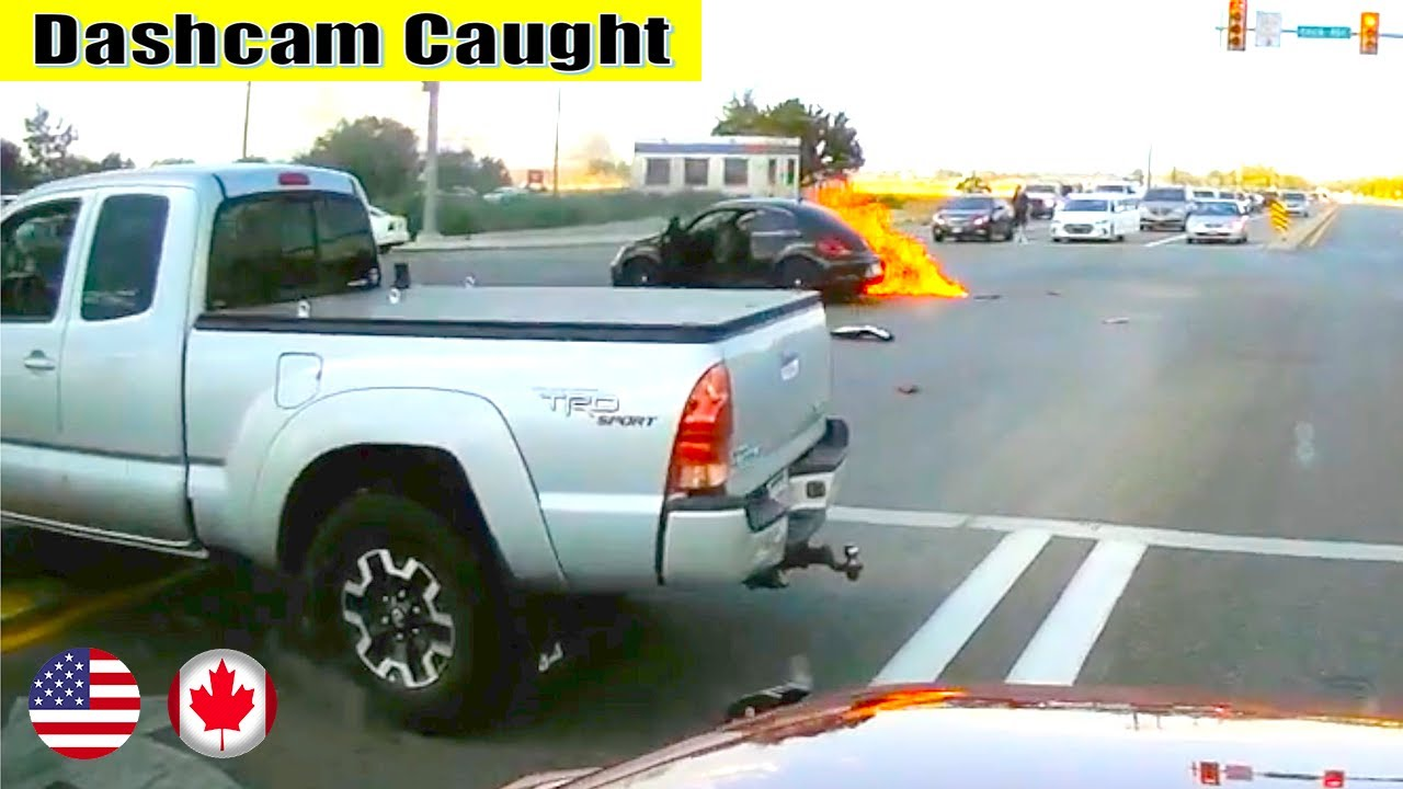 Ultimate North American Cars Driving Fails Compilation - 349 [Dash Cam Caught Video]