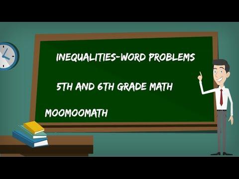 Видео 6 grade math problems