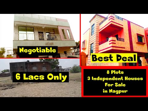 9 Plots and 3 independent houses for sale in Nagpur