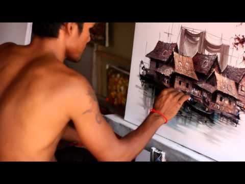 Cambodian Painter