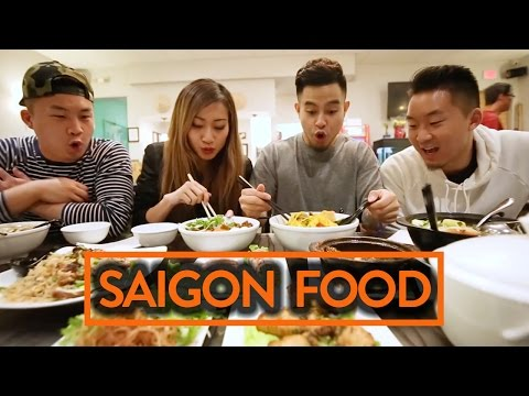 VIETNAMESE FOOD (SAIGON STYLE) W/ RICHIE LE & LEENDA D - Fung Bros Food