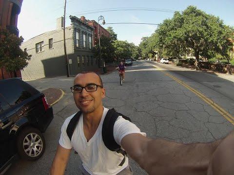 Riding Around Beautiful Savannah, Georgia