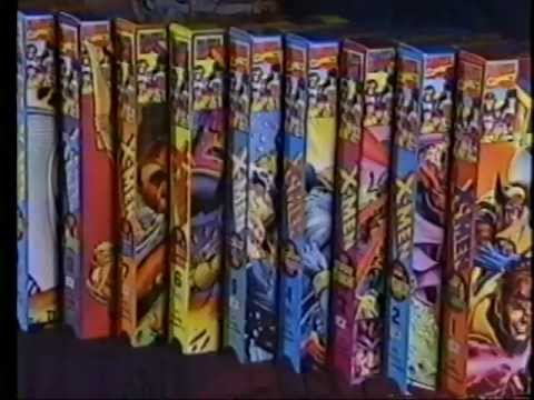 X-Men 90s VHS Set Polygram Commercial