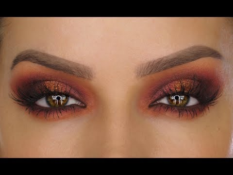 Moroccan Sunset Eyeshadow Makeup Tutorial | Shonagh Scott | ShowMe MakeUp