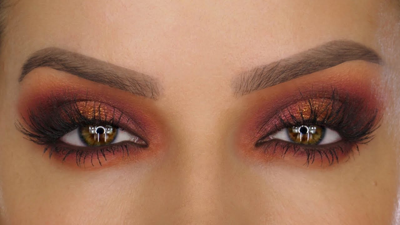 Moroccan Sunset Eyeshadow Makeup Tutorial Shonagh Scott Showme