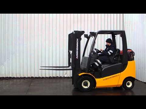 JUNGHEINRICH TFG320 GAS FORK LIFT TRUCK