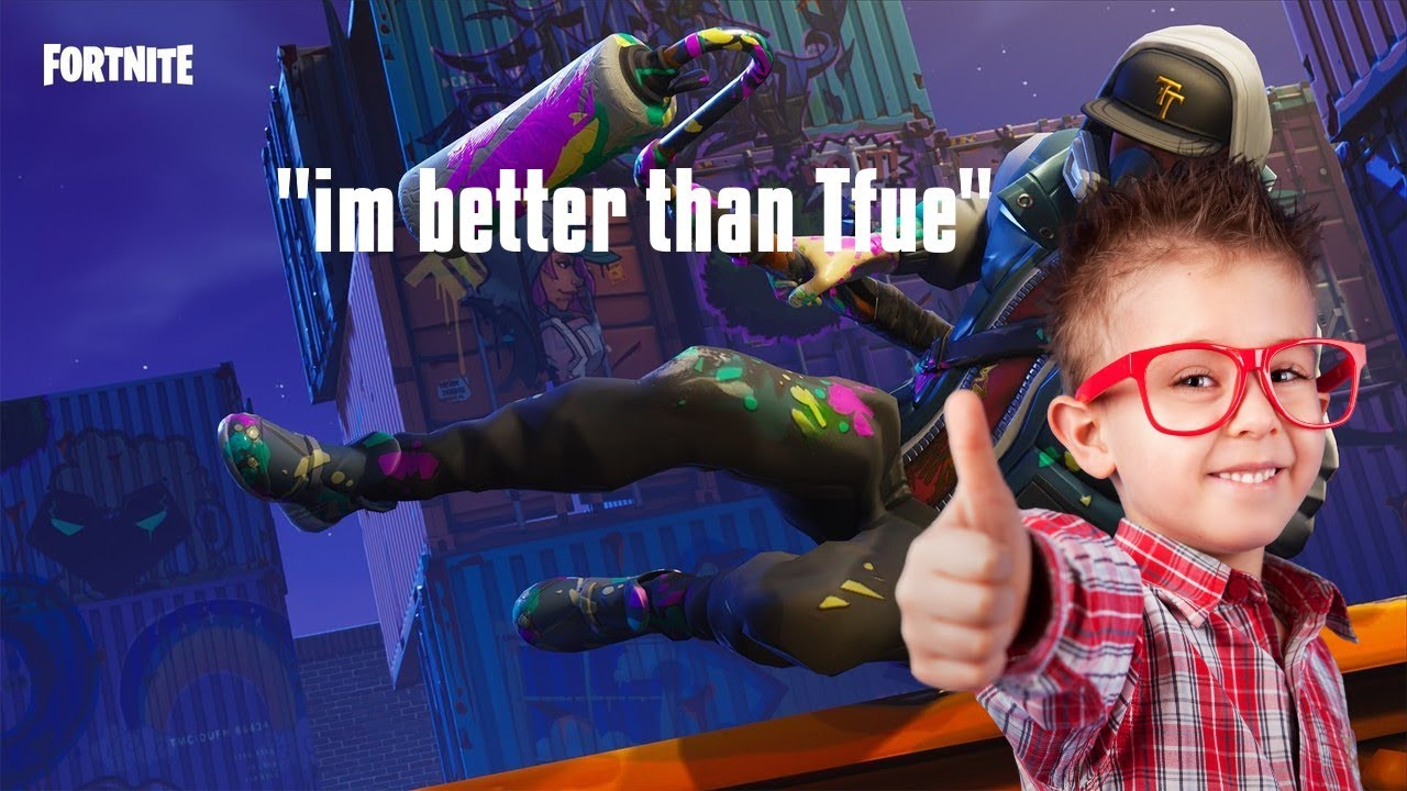 801aed0add6b 7 year old says hes better than Tfue and Ninja! - YouTube