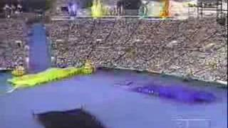 1996 Atlanta Opening Ceremonies - The Call to the Nations