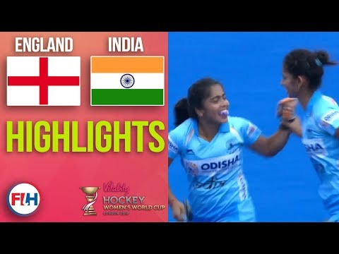 England v India | 2018 Women's World Cup | HIGHLIGHTS