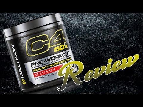C4 50x CELLUCOR - REVIEW