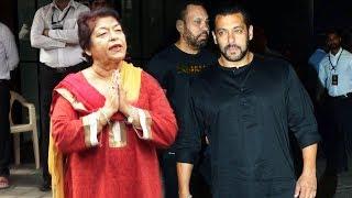 Salman Khan Forgives Saroj Khan During Ganpati Celebration 2018 | Salman Khan's Ganesh Chaturthi