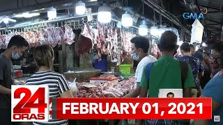 24 Oras Express: February 1, 2021 [HD]