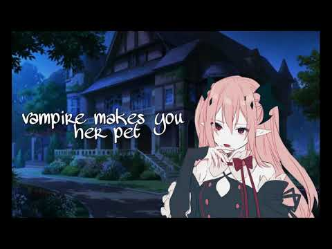 Asmr Roleplay - Vampire Makes You Her Pet [f4a]