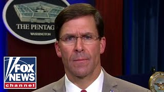 Defense Secy Esper: The National Guard has been activated in 18 states