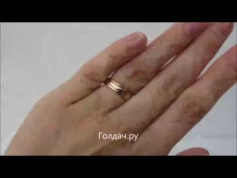 893596ed6bb6 Кольцо обручальное вращающееся z12550005 - YouTube