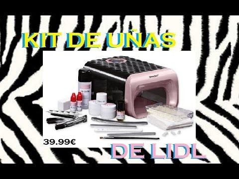 Kit De Uñas De Gel Del Lidl 2017