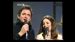 Johnny Cash & June Carter- Help Me Make It Through The Night