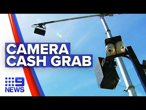 Mobile detection cameras raking in millions | Nine News Australia from YouTube · Duration:  2 minutes 12 seconds