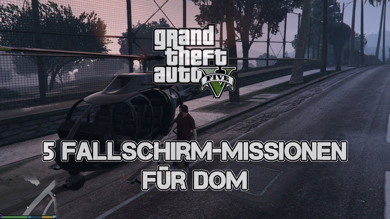 gta 5 rencontrer dom If the choppers aren't on the helipad just go back down, drive 3 or so blocks away , come back and you should have two choppers on top.