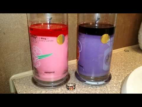 Diamond Candles: DOUBLE Reveal Vday Candles!!