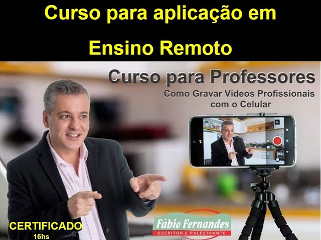 curso como gravar vídeos com o celular